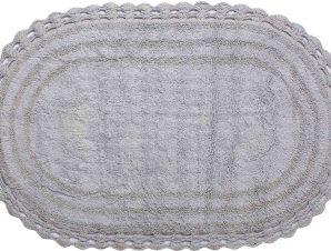 ΠΑΤΑΚΙ oval (100cm x 160cm) γκρί