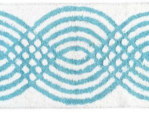 Ταπέτο μπάνιου Art 3285 50×80 Σιέλ Beauty Home