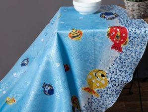 τραπεζομάντηλα 215 ( 140×180) ψάρι