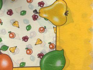 τραπεζομάντηλα 220 ( 150ροτόντα) κίτρινο