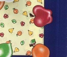 τραπεζομάντηλα 220 ( 90×90) μπλέ