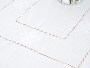 Τραπεζομάντηλο 140×180 32960 Λευκό