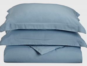 Anna Riska Σεντόνι Ημίδιπλο 170×270 Luxury 6 Lake Blue