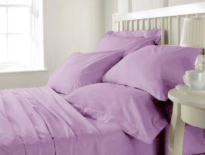Anna Riska Σεντόνι Κούνιας 120×165 Prestige Baby 7 Lilac