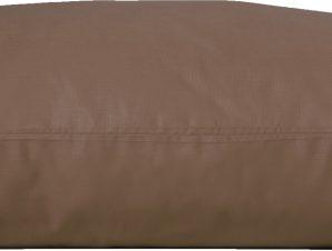 Viopros Ζεύγος Μαξιλαροθήκες 50×70 Basic Σοκολά