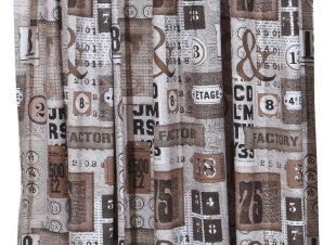 Viopros Κουρτίνα με Τρέσα 135×270 Φάκτορυ