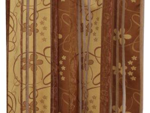 Viopros Κουρτίνα με Τρέσα 140×270 8330 Χρυσαφί