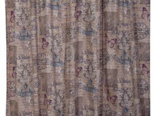 Viopros Κουρτίνα με Τρέσα 270×270 Βίνταζ