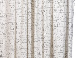 Viopros Κουρτίνα με Τρέσα 270×270 'λγεβρα Λευκό