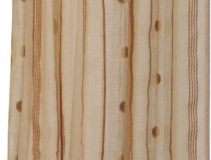 Viopros Κουρτίνα με Τρέσα 280×270 8504 Καφέ