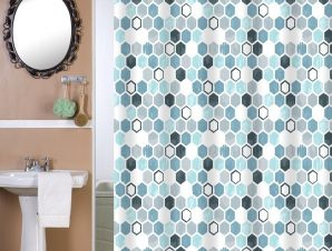 Viopros Κουρτίνα Μπάνιου 180×180 Νόβα