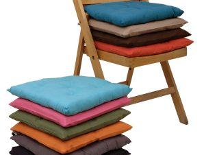 Viopros Μαξιλάρι Καρέκλας 40×40 583 14-Κόκκινο