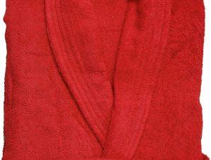 Viopros Μπουρνούζι Medium Classic Κόκκινο