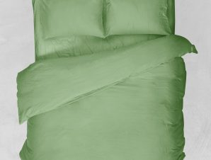 Viopros Σεντόνι Υπέρδιπλο 220×260 Basic Πράσινο Μήλο