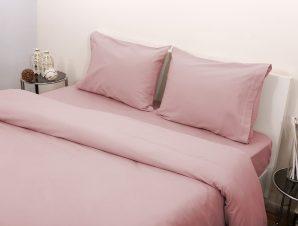 Viopros Σεντόνι Υπέρδιπλο 240×265 3100 Φανέλλα Ροζ