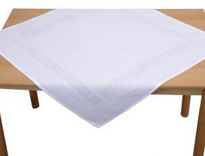 Viopros Τραπεζομάντηλο 85×85 3970 Λευκό